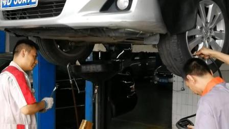 深圳聋人汽修培训_检测轮胎气压