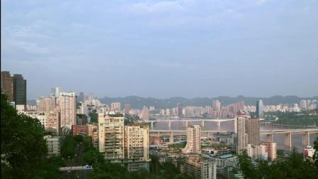 重庆文创公园延时拍摄