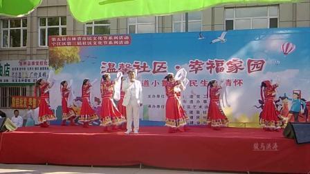 松原繁荣小区建设街道文艺演出美丽的姑娘卓玛拉-舞动东北原创舞蹈视频正式篇523