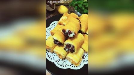 肉松沙拉蛋糕卷教程