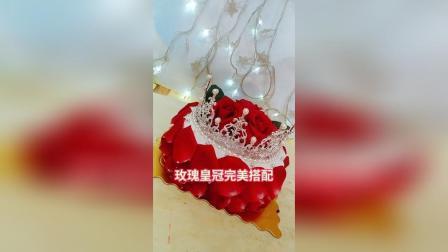 超仙玫瑰皇冠蛋糕制作分享
