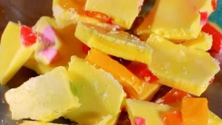芒果汁搭配香浓酸奶 瞬间圈粉隔壁小孩