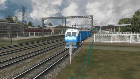 模拟火车中国站2018年8月18日官方联控录像(成昆铁路V2.0 双梅村-昆明机务段)-非全程