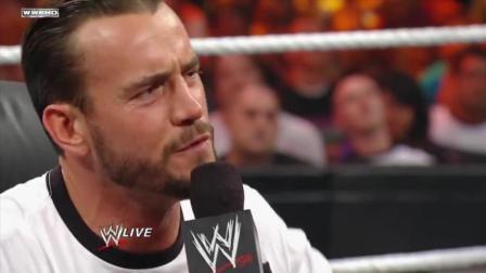 WWE: CM朋克! 这算不算侮辱? 当面侮辱这十个对手。