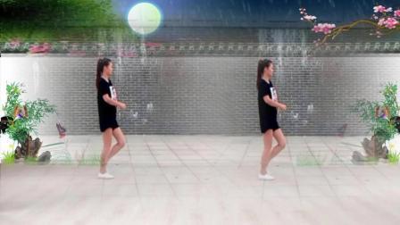 红豆广场舞 《一晃就老了》网红慢摇16步