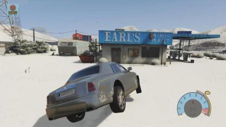 亚当熊 GTA5: 劳斯莱斯幻影的质量竟然是这样的, 看了你还买吗
