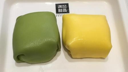 【团子的吃喝记录】上海满记甜品: 芒果和榴莲班戟(更多图片评论在微博: 到处吃喝的团子)