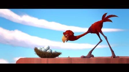 疯狂动物岛: 笨鸟奶爸变成大长腿