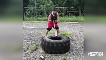 专业摔跤手的体能和反应训练方法!