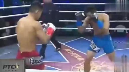 泰拳王扬言再次KO世界排名第三魏锐 上场被魏锐