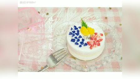 清新简约的粘土蛋糕小教程