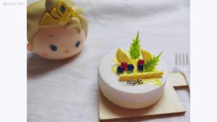 芝士柠檬夹心手工粘土蛋糕