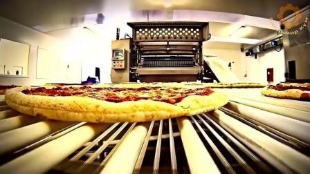 披萨原来是这样生产出来的, 长见识了