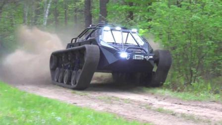 看起来像坦克的越野车, 翻山越岭如履平地, 交警让上路吗?