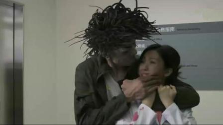 香港恐怖片《惊异世纪之寄生兽》中国版寄生兽, 它们通过耳朵钻进大脑, 控制人类!