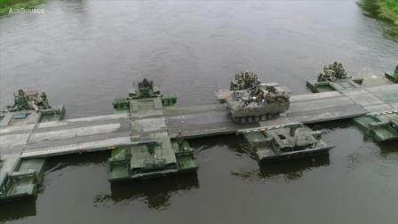 科技就是战斗力: 全机械化的德军架桥装备
