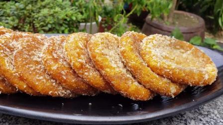 南瓜饼家常做法, 好吃又健康, 学会了早餐就吃它