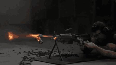 现役最强的五款轻机枪, 第一名连续打了10万发子弹, 枪管都打化了