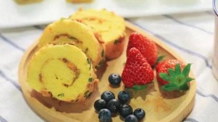 香葱肉松蛋糕卷, 比蛋糕店的便宜, 比蛋糕店的更多!