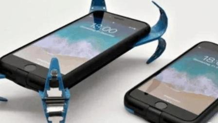 章鱼哥手机壳, 落地弹爪保护, 网友: 比诺基亚抗摔?