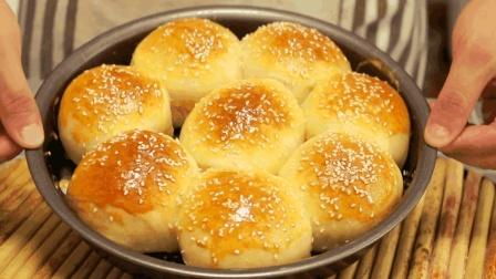 红薯小餐包的做法, 柔软香甜, 营养美味, 厨房新手也能轻松成功