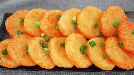土豆饼简单又好吃的做法, 我家隔三差五就做一回, 太馋人了