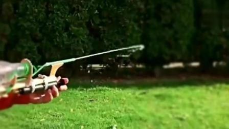 自制水枪, 再也不用上超市里买了!