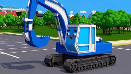 小汽车玩具展示