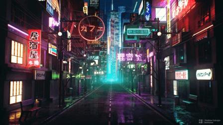 七喜: CINEMA 4D城市夜景制作-OC渲染