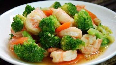 西兰花怎么做好吃, 虾仁怎么做好吃, 西兰花和虾仁这样做上桌全部吃光一盘都不够