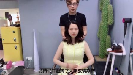 2018流行发型推荐 日系甜美系 女生剪完这款发型 脸型显得更加精致小巧了
