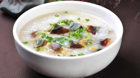 皮蛋瘦肉粥的家常做法, 营养美味简单易学, 大人孩子都爱吃