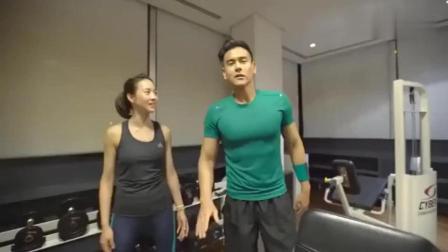 明星健身房里, 我们来看看彭于晏是如何锻炼的!