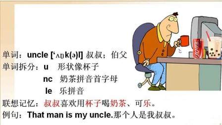 英語 伯父