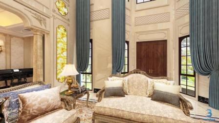 法式风格别墅, 将建筑点缀在自然中, 讲求心灵的自然回归感