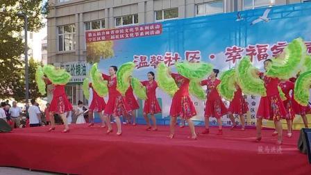松原建设街社区演出-舞动东北原创舞蹈视频正式篇528
