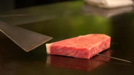 日本最贵的松阪牛肉铁板烧, 连料理的规格真是高大上