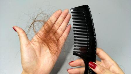 天天掉头发怎么办? 洗头前水里先加这两样东西, 头发会越长越茂盛