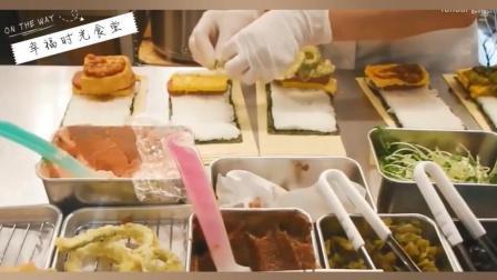 【街头觅食】冲绳小吃, 芝士牛排米饭海苔汉堡