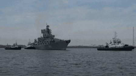 美国大军压境! 危急时刻俄罗斯强势出手, 巡洋舰开赴中东海域