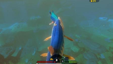 『罐头』模拟鱼 #31 蓝色的史前大带鱼