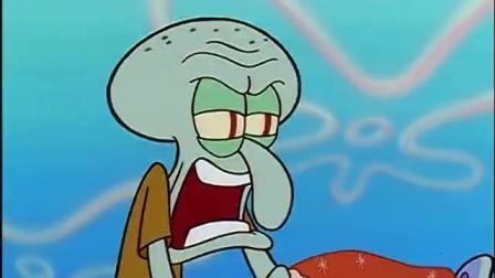 海绵宝宝:章鱼哥饿昏了头,他要吃掉顾客的外卖披萨