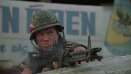 真正的枪战猛片! 越战电影标杆之作《全金属外壳》, 精彩片段欣赏
