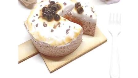 网红珍珠爆浆蛋糕教程, 一个视觉上盛宴, 快来学习吧!