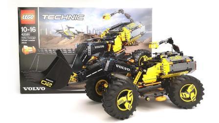 900元买1000片的套装! 乐高LEGO科技系列42081概念轮式装载机评测