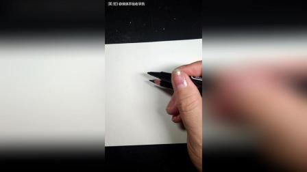 教你画最简单的3D立体画