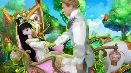 趣味芭比故事 童话故事里公主是一定会嫁给王子的