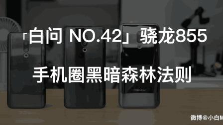 「白问 NO.42」骁龙855手机圈黑暗森林法则