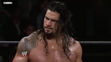 WWE: 罗曼大帝在NXT的第一场比赛