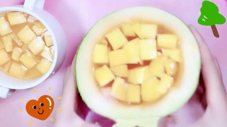 """教你自制可以吃的""""芒果布丁泥"""", 口感酸酸甜甜, 成功率百分百"""